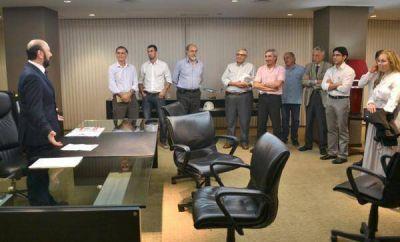 Representantes de la Corporación Andina supervisaron obras que financian