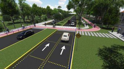 Avanza la ciclovía que conectará diferentes zonas de San Isidro
