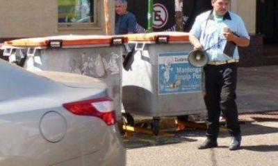 Campaña invita a respetar el tránsito mediante megáfonos y carteles