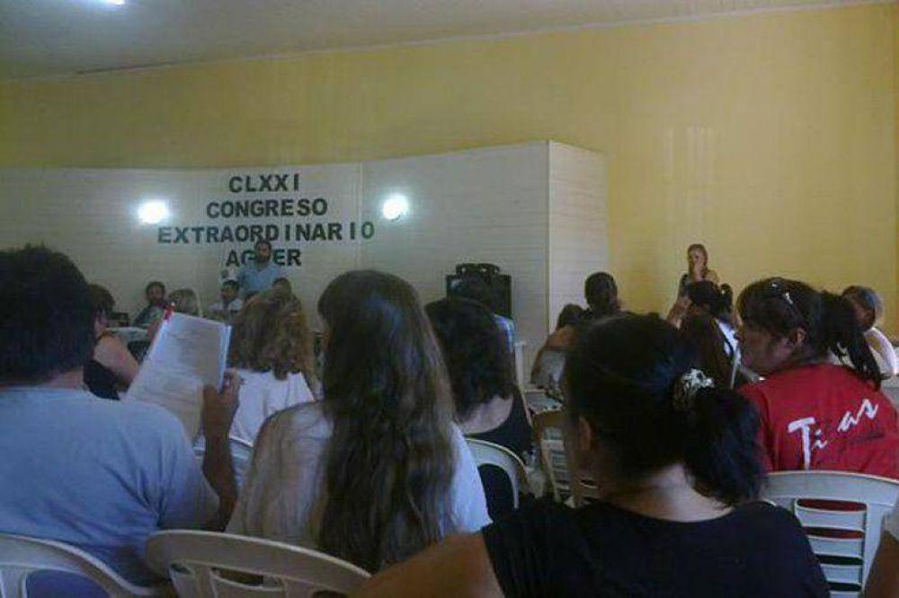 Agmer y AMET rechazaron la propuesta salarial del Gobierno