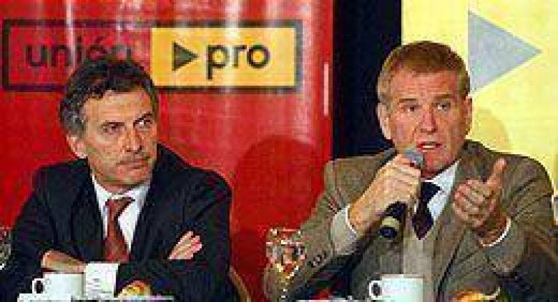 """Macri y De Narváez pidieron """"un gesto del Gobierno hacia el Campo"""""""