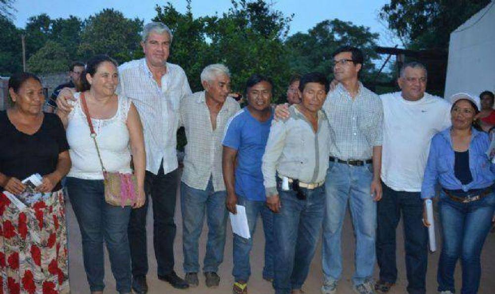 """Zottos busca el Senado: """"Vengo a unir al departamento San Martín"""