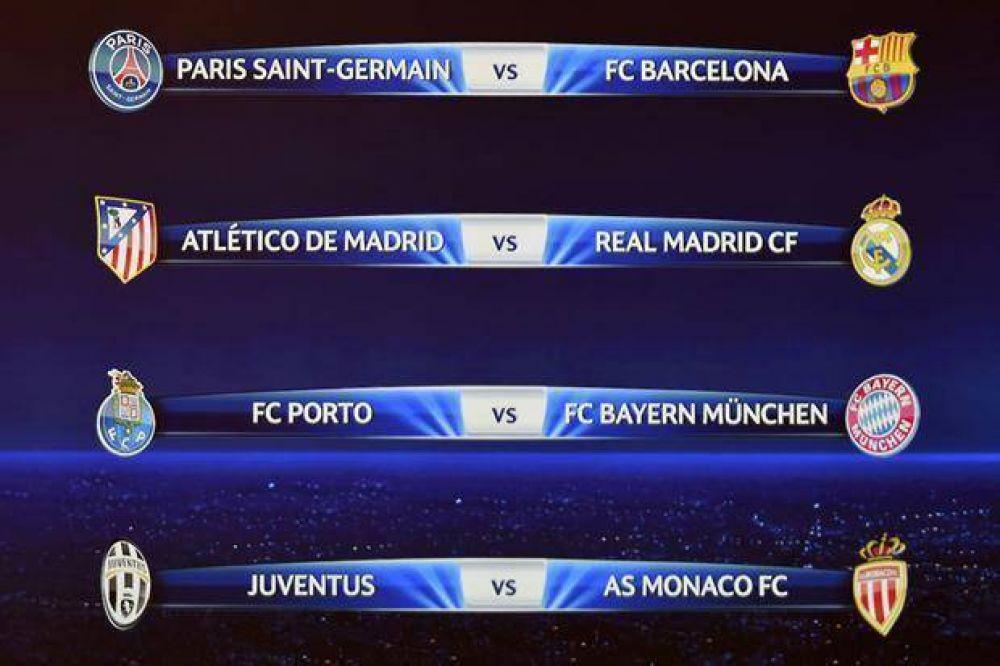 Sortearon los cuartos de final en la Champions League: otra vez Real ...