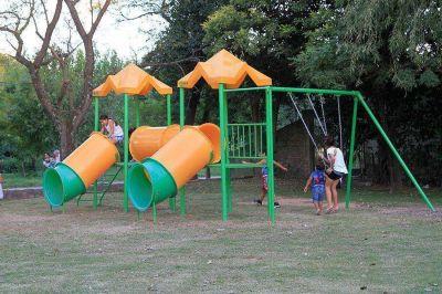 Nuevo juego y recuperaci�n de la plaza del barrio �Don Pancho�