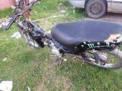Se esclarece ilícito y se incauta motocicleta sustraída