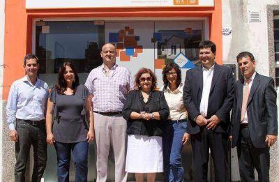 Inauguraron Oficina de Casa de Tierras en Olavarr�a