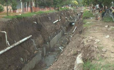 La falta de financiamiento retrasa las obras del Canal de los Manzanos