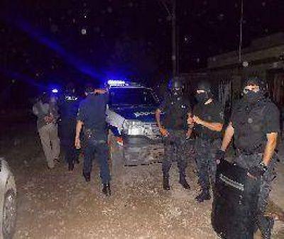 En mega operativo recapturaron fugados de la DDI  En la noche del sábado y con un importante despliegue de efectivos policiales recapturaron a los fugados de la DDI.
