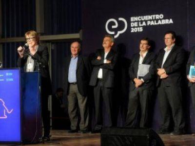 Parodi, Sileoni y Rossi inauguraron la segunda edici�n del Encuentro de la Palabra
