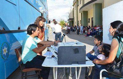 El móvil de documentación atenderá en Tres Cerritos a partir del miércoles 25 de marzo