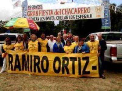 Pro Azul: Ramiro Ortiz estuvo en la Fiesta del Chacarero