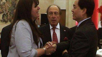 Dufour gestionó financiamiento ante el embajador chino