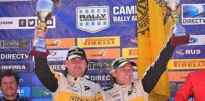 Kovacevich volvió a ganar en el Rally