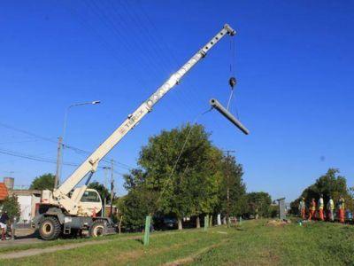 Siguen obras para la electrificación