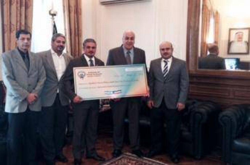 Sociedad de Socorros Mutuos y Ayuda Social Árabe Musulmana de Córdoba recibió una donación de Kuwait