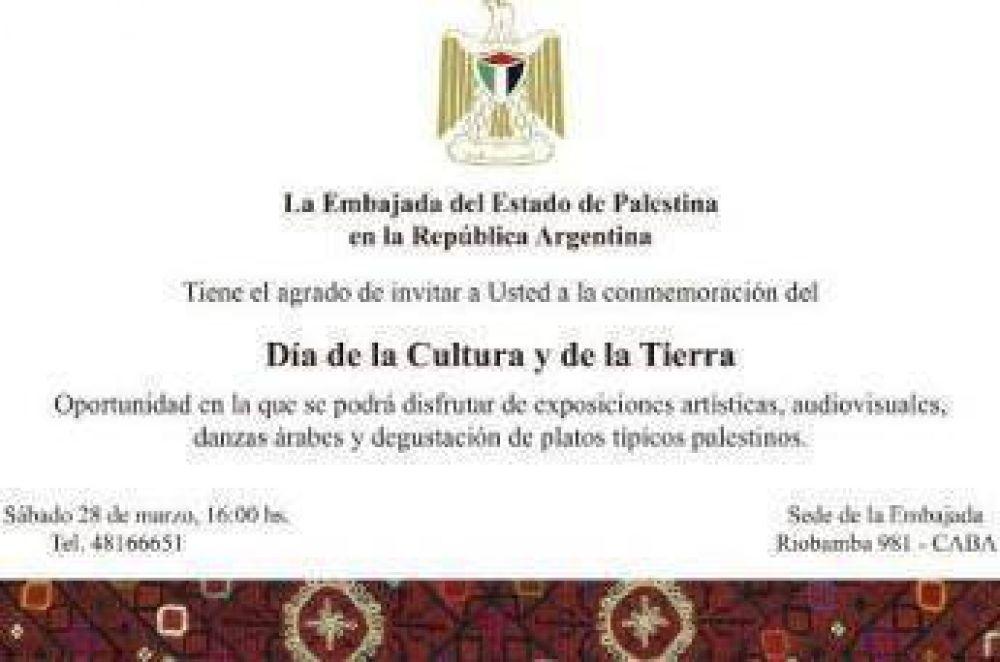 Conmemoración del día de la cultura y de la tierra palestina en Buenos Aires