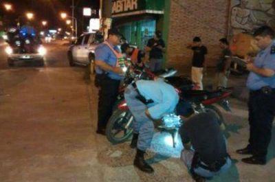 Secuestran 38 motos en fuerte operativo de la Policía Caminera