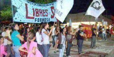 La APDH filial Formosa invita al acto en 25 de Mayo y Moreno
