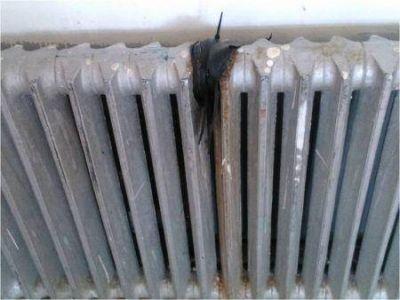 Pierden los radiadores en la Escuela 13