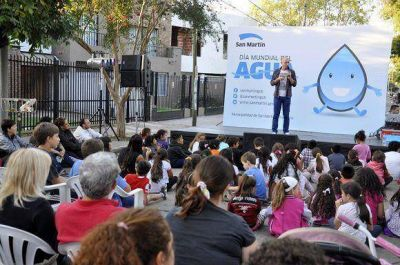 San Mart�n: D�a Mundial del Agua con una jornada para la concientizaci�n