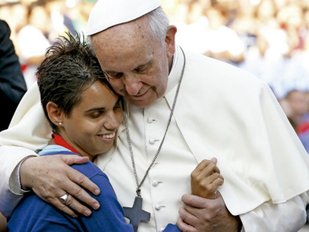 Francisco critica a quienes juzgan con rigidez a la Iglesia