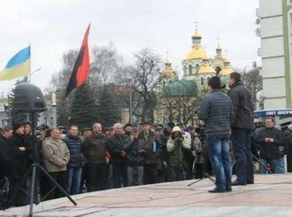 Ucrania: Vocero de partido nacionalista culpa a los judíos por la mala situación del país