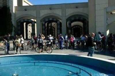 Exitosa bicicleteada interreligiosa en la ciudad de Buenos Aires