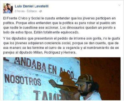 """Desde el oficialismo tildaron de """"gorilas"""" a los opositores que pidieron informe sobre La Cámpora"""