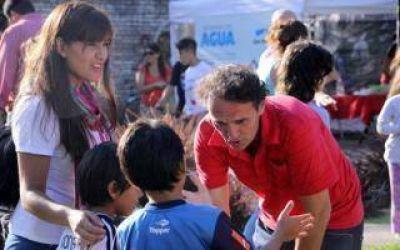 Intendente Katopodis celebró el Día Mundial del Agua en San Martín
