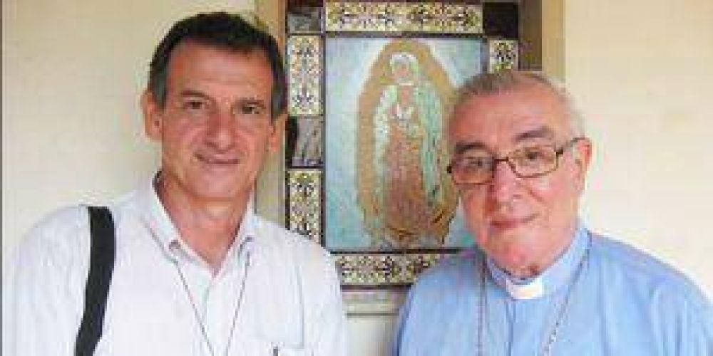 Adolfo Canecín asume hoy como Obispo Coadjutor en Goya