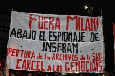 En Formosa reclamaron el fin de la Impunidad, repudiaron a Milani y al sistema represivo y de espionaje de Formosa