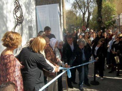 Inauguraron un monumento en el 39º aniversario del Golpe de Estado