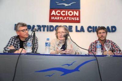 Jose Pablo Feinmann brindó una charla en Acción Marplatense