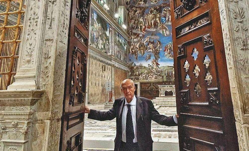 Abren a los sin techo la Capilla Sixtina y los Museos Vaticanos