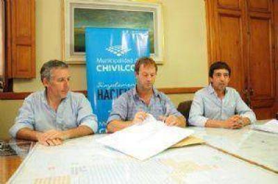 El Municipio licitó la construcción de 60 cuadras de cordón cuneta