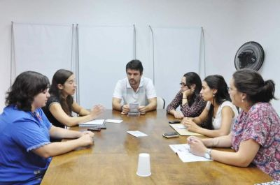 Esta semana, reuniones con estudiantes
