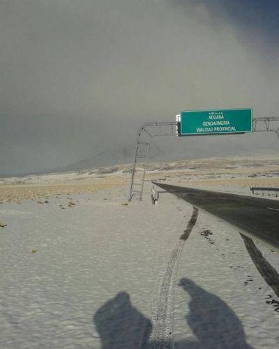 Se habilitó con precaución el tránsito entre Las Grutas y el límite con Chile