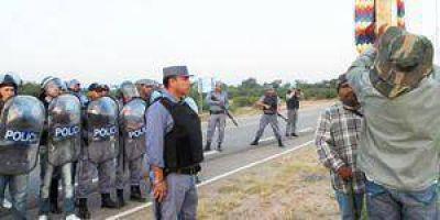 Acusaciones cruzadas por la represión en Ingeniero Juárez