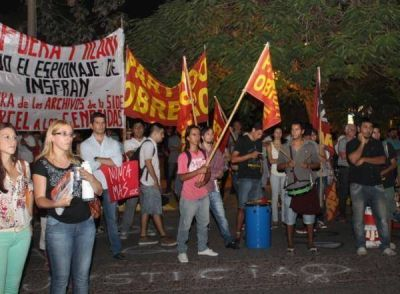 El Partido Obrero Formosa denunci� penalmente a Insfr�n por espionaje a dirigentes pol�ticos, sindicales y sociales