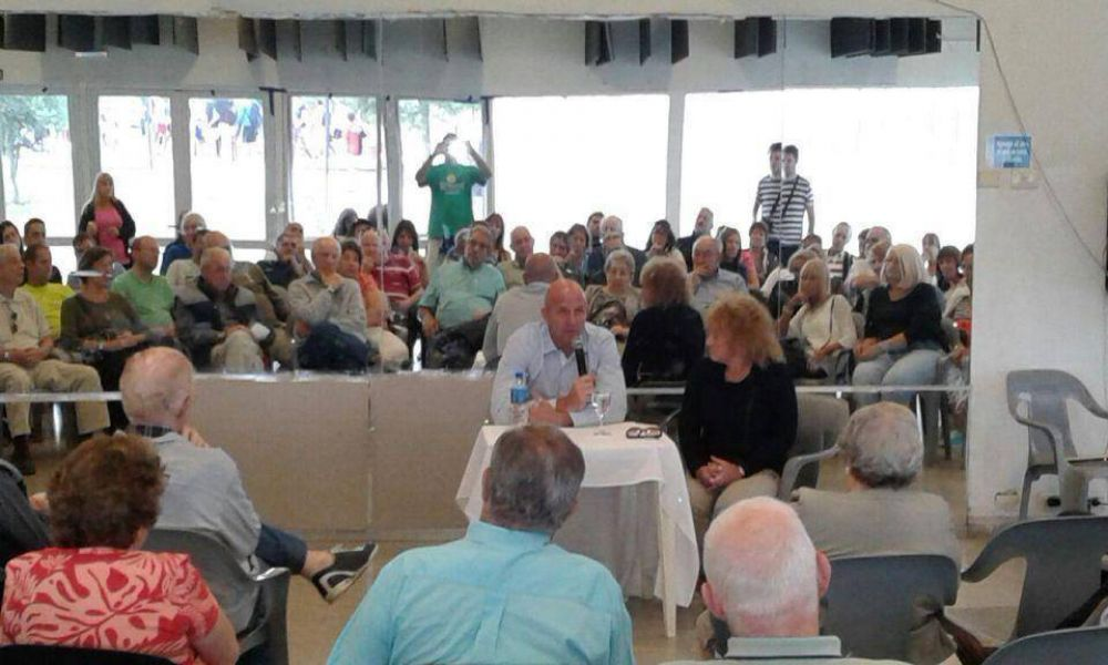 DAIA Córdoba recibió la visita del vicepresidente Wolff