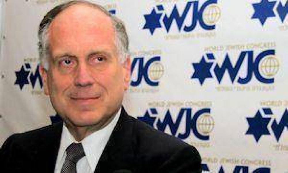 """Lauder: """"Judíos europeos viven con miedo y EE.UU. debe condenar el odio radical islámico"""""""