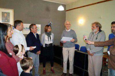 Jean Pierre Raemdonck fue declarado ciudadano ilustre
