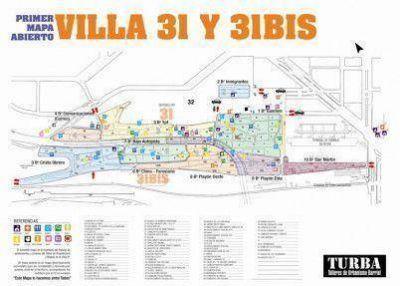 """Crearon el primer """"mapa abierto"""" de la Villa 31"""