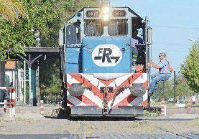 El tren calienta los motores