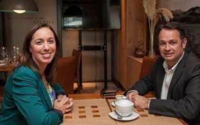 Elecciones 2015: Tras el acuerdo UCR-PRO, Vidal se mostró con Celillo