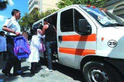 Dos transportes escolares retenidos y un uruguayo alcoholizado
