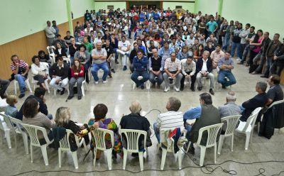 Los vernistas y Convergencia calientan motores para el lanzamiento de Verna en Estudiantes