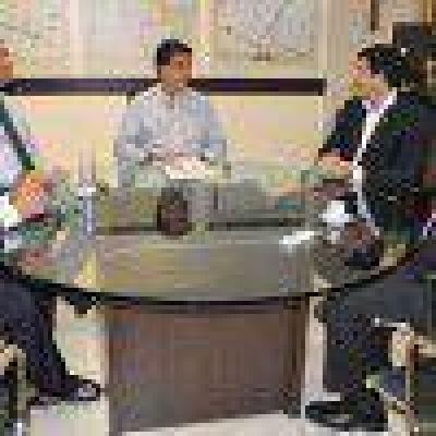 El gobernador se reunió con el titular de la Procelac