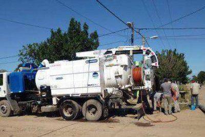 Sameep continua con los trabajos de saneamiento en General San Martin