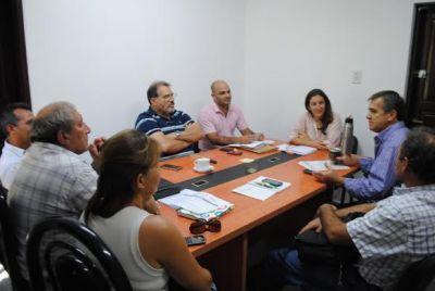 Desarrollo Social articuló trabajo de acción territorial con los municipios de Fontana y Castelli